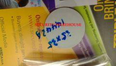 RFID 13.56MHz 14443A Soft Adhesive Sticker Tag Anti-RF Metal