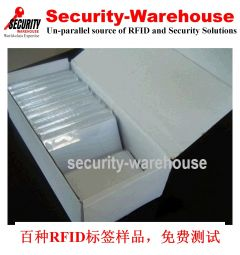 RFID long-range passive UHF Standard Credit Card Size Tag 96-bit EPC 96-bit 18000-6C 85x56x0.8mm
