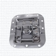 metal hasp butterfly lock air box lock cold rolled steel fastener box clasp pair of nasal lock catc