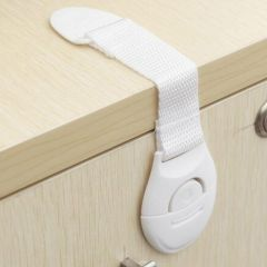 Baby Safety Locks Plastic Drawer Door Cabinet Cupboard Safety Locks Protection