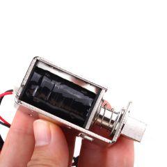 1Pcs New 12V 2A Electronic Door Lock Cabinet Drawer Door Desk Access Control Lock Smart Electromagne
