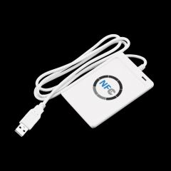 1pc USB ACR122U NFC RFID Smart Card Reader Writer For all 4 types of NFC (ISO/IEC18092) Tags + 5pcs