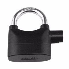 Black Waterproof Siren Alarm Padlock Alarm Lock for Motorcycle Bike  Perfect Security