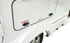 2991 Cabin Door Lock High Quality Zinc Alloy Trailer Caravan Door Lock