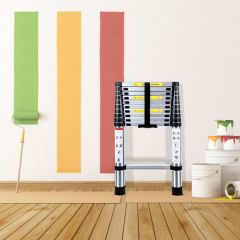 3.2M Multifunctional Portable Aluminium Alloy Telescopic Ladder Stable And Durable Ladders