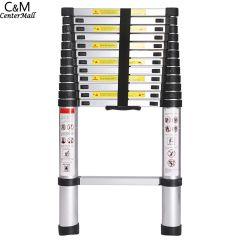 3.8M 13 Steps Portable Telescopic Ladder Folding Ladders  Retractable Multifunctional Telescopic