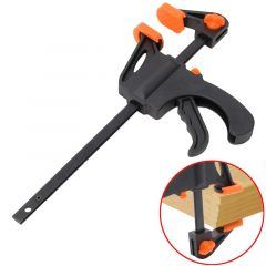 4 Inch Wood-Working Bar Clamp Quick Ratchet Release Speed Squeeze DIY Hand Tools -Y103