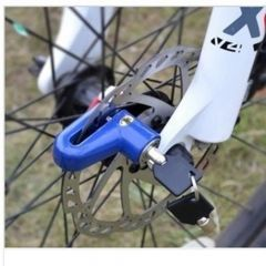 Anti theft Disk Disc Brake Rotor Lock For Scooter Bicycle Motorcycle SafetyLock
