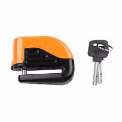 Bicycle Bike Mini Electron Alarm Disc Brakes Lock Mountain Bike Road Racing Bike Anti Theft Security