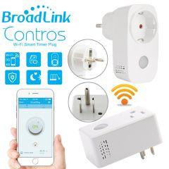 Broadlink Smart Home Wifi Smart Outlet Timer Plug Socket EU US 15A APP Wireless Remote Control Outle