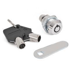 Cam Lock File Cabinet Mailbox Desk Drawer Cupboard Locker + 2 Keys 90 Degree Rotation For Home Tools
