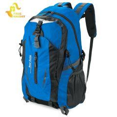 Free Knight Large Capacity Patchwork Waterproof Backpack Buckle Ladder Lock Zipper S Shape Mesh