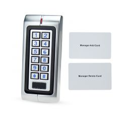 IP65 Waterproof Access Control System Kit Set Of RFID Card Reader Keypad With Electric Lock+Power Su