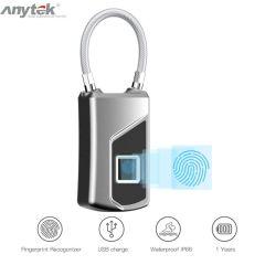 L1 Smart Keyless Fingerprint Lock for Car Motorcycle Bike Waterproof Security Anti-theft Door Suitca