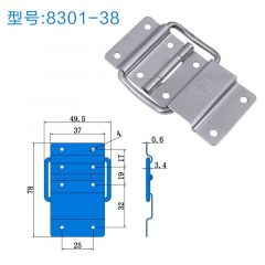 Luggage Hardware Hinge Support High-quality Chassis Air Box Furniture Hinge Toolbox Cipher Box