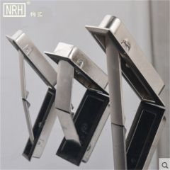 NRH4618 series wardrobe drawer dark handle Invisible metal shoe showcase flip handle Tatami handle