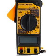 New Digital Voltmeter Ammeter Ohmmeter Multimeter AC DC Volt Tester Clamp Meter W329