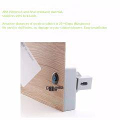 RFID Hidden Drawer Lock Furniture Desk Cabinet Locker Lock Safety Smart Home Door Cupboard Childproo