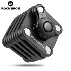 ROCKBROS National Patent Award Bike Bicycle High Security Drill Resistant Lock Password Key Theft