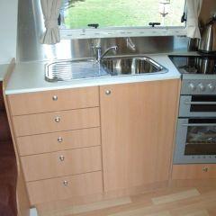 RV Drawer Caravan Furniture Cupboard Button Push Latch Knob Lock E5M1
