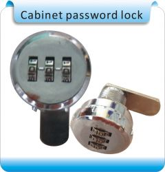 S-108 no power 1000 set password trouble-free 3 digit number cabinet lock, access control system pas