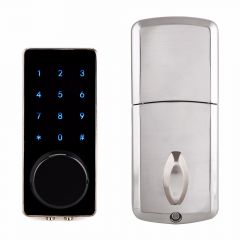 Smart Lock Bluetooth Enabled Keyless Door Lock Home Entry with Your Smartphone for Hotel Apartment F