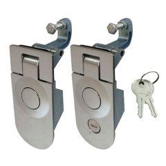 Touring Car RV Mechanical Cupboard Tubular Cam Spring Button Lock Drawer Cabinet Safety Lock