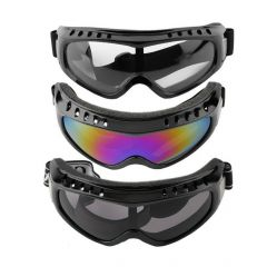 Transparent Unisex Safety Goggles Motorcycle Cycling Eye Protection Glasses Tactical Paintball Wind