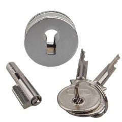 Universal Sliding Glass Showcase Lock Furniture Drawer Cabinet Lock E5M1