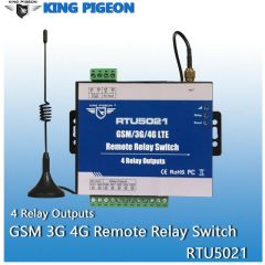 Wireless GSM 3G 4G Relay switch SMS Remote Controller 4 Relay Outputs SMS APP Timer Web setting IoT