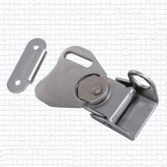 free shipping 2pics iron hasp Butterfly lock buckle lock air box part tool case lock catch fastener