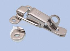 free shipping Stainless steel buckle latch hasp Insurance Electrical medical equipment box plastic t