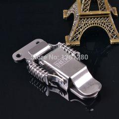 metal hasp 304 stainless steel Industrial box spring buckle incubator sealed box lock