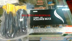 KVM Switch VGA Splitter 1 to 2 VGA and USB