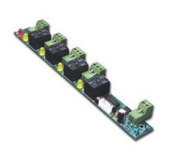 4 Channel Output Access Controller Extension Board for Fire and Burglar Alarm