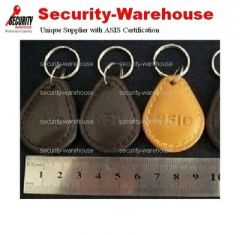 RFID ID 125 KHz Tag Key Ring Hand-made Leather Case EM4100 Compatible