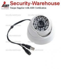 1/3 inches Sony CCD CCTV 3 6-16mm Security Camera White Trumpet Indoor 48 IR 700L NTSC