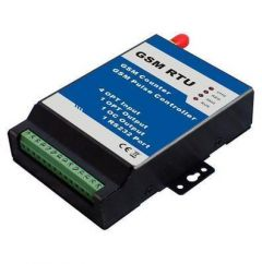 GSM RTU Remote Transmission Unit 4 In 2 Out 1 AD RS232 Ports