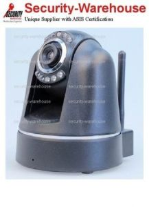 WIRELESS IP CAMERA AUDIO VIDEO WIFI PTZ IR Motion Detction ANDROID IPHONE GREY