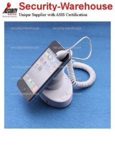 Brand New Mobile Display Anti-Theft Security Alarm Phone Display Holder White
