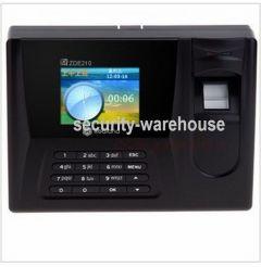 Really ZDE210 fingerprint attendance fingerprint fingerprint punch card machine really genuine UNPROFOR Free Software