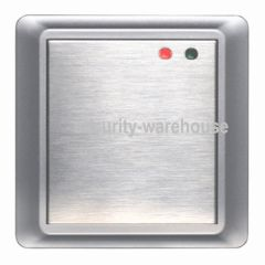 8618A Stainless Waterproof Access Control RFID 125KHz Card Only Silver 500 User