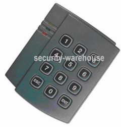 PT08P RFID 125 KHz + Password No Display Card Reader Access Control Card Reader BlackWhite w LED