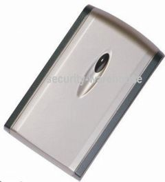 PUTER PT-08J Waterproof Access Control Card Reader PVC Silver Case w LED Wiegand