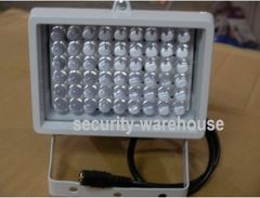 Surveillance camera fill light 12V54 light white lights white lights effective distance 50 meters