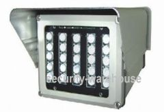 Surveillance Camera LED light 150 m distance power infrared light infrared light shield