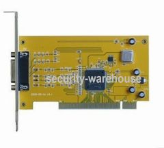 4CH audio and video capture card surveillance DVR capture card 4 channel video surveillance card Motherboard