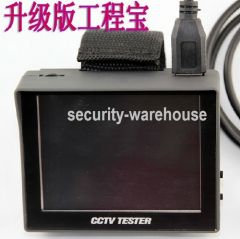Upgrade engineering treasure monitor tester 3.5 inches inch screen video tester +12V output CT600 shipping