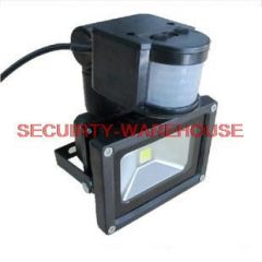 Surveillance cameras Infrared sensor lamp 10W LED white light
