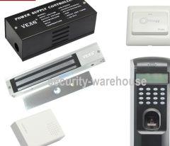 Fingerprint access control fingerprint attendance Kit access parcel in magnetic lock Kit bag